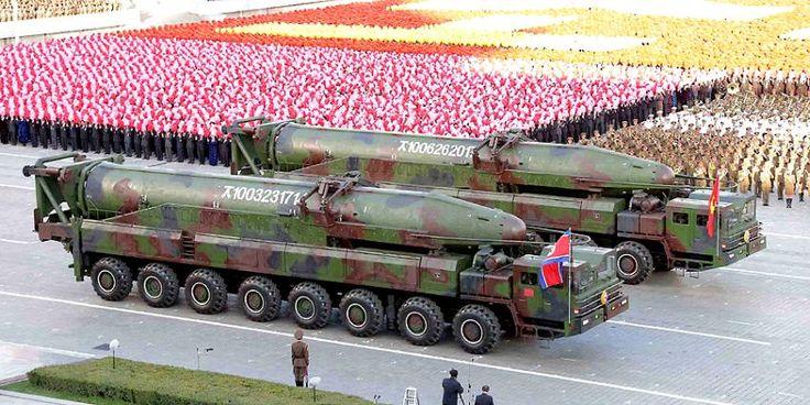 Cadena CNN transmite desfile militar de Corea del Norte
