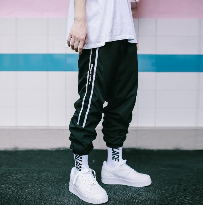 brief vintage fashion casual loose pants men trousers pantalones hombre cargo pants for men pantalon homme street patchwork