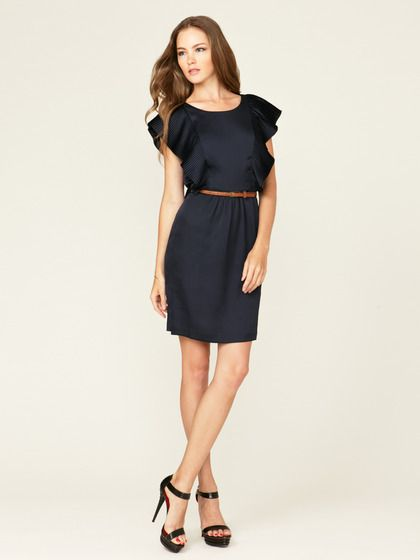This would be super cute with a belt and brown pumps for work!