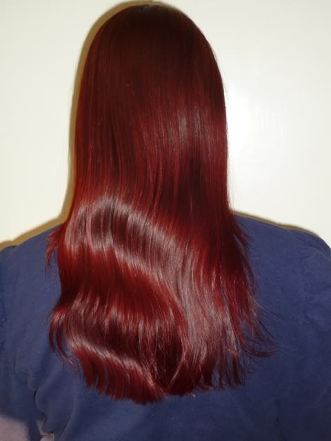 how to get my hair red