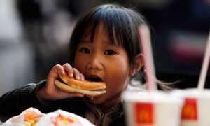 """McDonald's in Milan - Not everyone is a fan of the American fast-food icon, calling it the """"devil and holy water"""""""