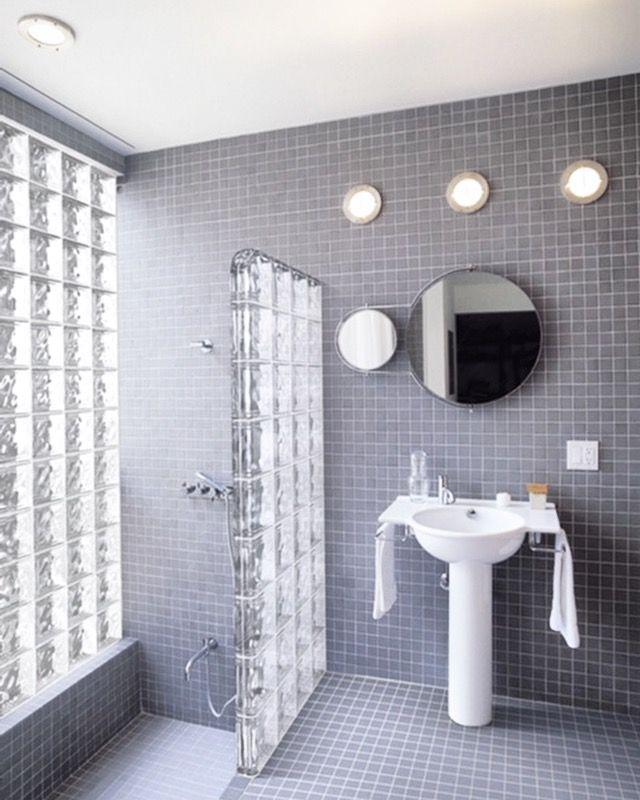 878 Best Glass Block Showers Images On Pinterest