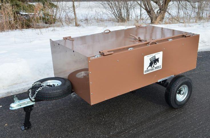Survival MULE: Your Containerstore on Wheels | A Flexible Survival Storage Solution for Preppers on the Move by Survival Life at http://survivallife.com/survival-mule/