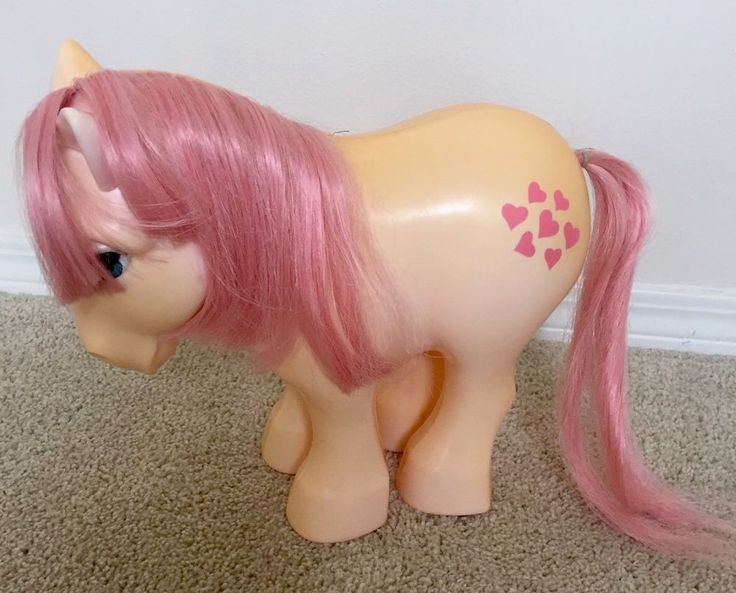 Vintage My Pretty Pony Romper Room MLP Peachy Variant Rare My Little Pony G1 81'