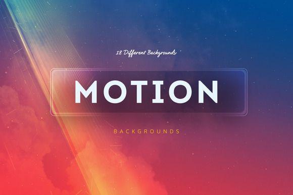 18 Motion Backgrounds V2 by Digital ART on @creativework247