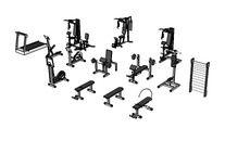 Mobiliário para academia - 3D Warehouse