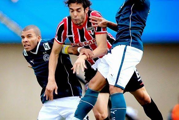 Blog Esportivo do Suíço:  Brasileirão - Série A 2014, 12ª Rodada: Kaká faz gol, mas o São Paulo perder para o Goiás