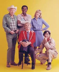 Captain Kangaroo........had to find a picture with Mr. Green Jeans :-)