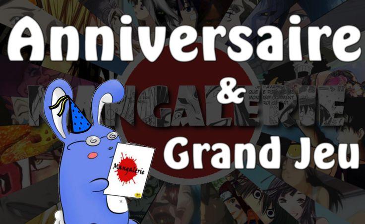 Mangalerie : Anniversaire + Concours