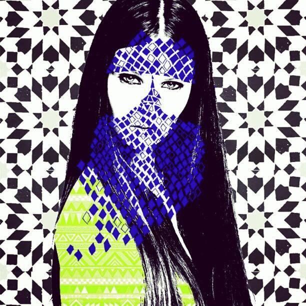 Fida Al hussan, Saudi artist. Damn, Jill has some excellent taste in illustrations.