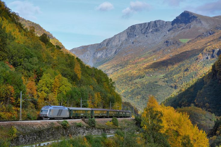 Flåmsbana, one of the world's most scenic railways