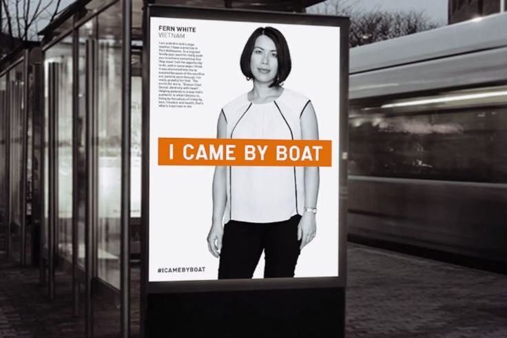 """It's a lot harder to dismiss """"boat people"""" when they have names and faces."""
