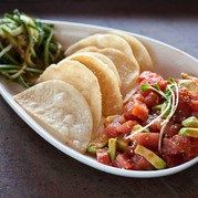 I am 100% poke obsessed and this Ahi Tuna Poke from Sapporo's is my go to for parties or a random Tuesday!