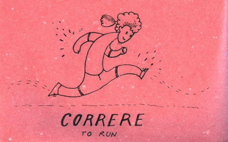 Learning Italian Language ~ Correre (to run)