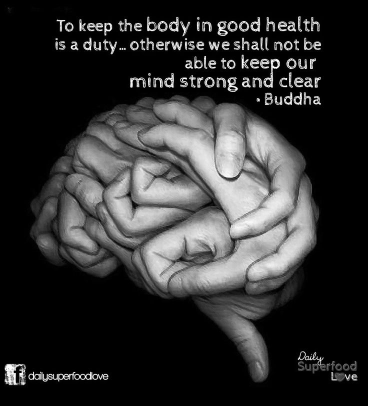 Buddha's Good Health Quote on How to Keep a Strong Mind