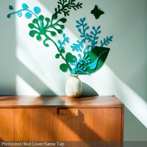 Schön Eine Schöne Idee Zum Selbermachen, Die Dem Flur Mehr Kreativität Verleiht:  Eine Wanddeko Mit