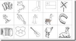 Dibujos de Chile para imprimir, dibujos de Chile para colorear