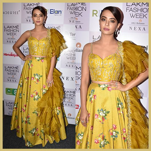 Surveen Chawla, Celeb Spotting Day 3, Lakme Fashion Week Summer Resort 2018, Appearances
