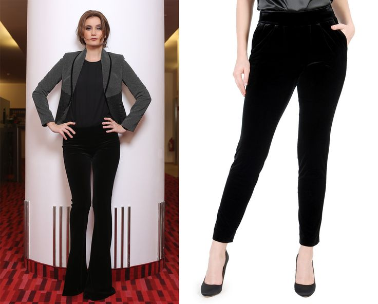 Velvet pants YOKKO | fall16 #velvet #trousers #black #outfits #style #fashion #yokko