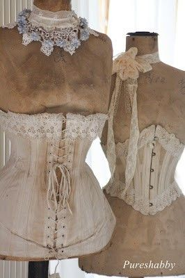 always wanted to try a corset, but I tend to get claustrophobic when clothes are tight around my midsection, so probably not a good idea!
