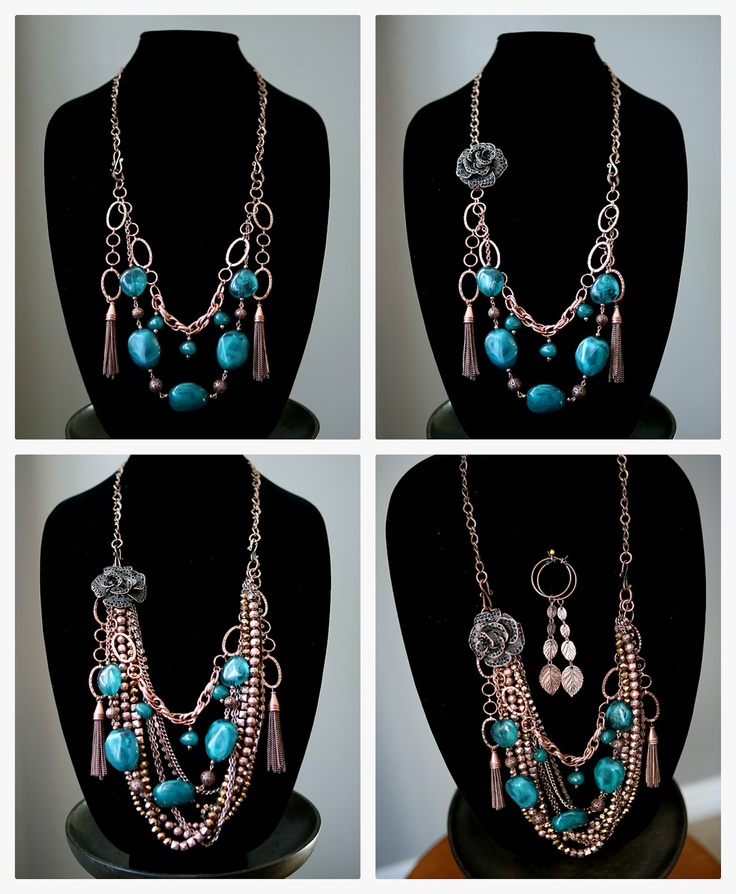 Love the mix 'n match from Jamie, Jodie, and Jen :) #jewelry
