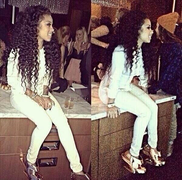Keyshia Cole Long Amp Curly Locks Hair Inspo Pinterest
