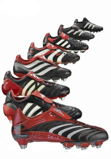 Adidas Predators throughout history  (my favourite cleats/boots of all time)