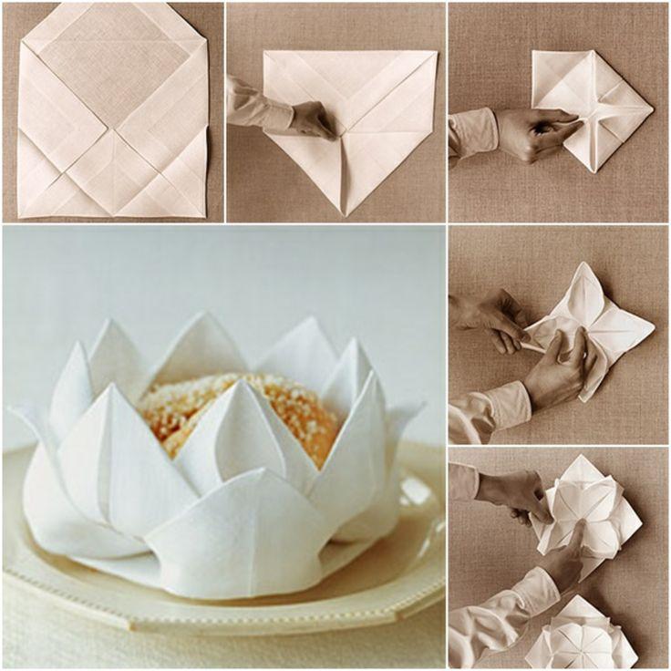 170 besten tischdekorationen servietten bilder auf. Black Bedroom Furniture Sets. Home Design Ideas