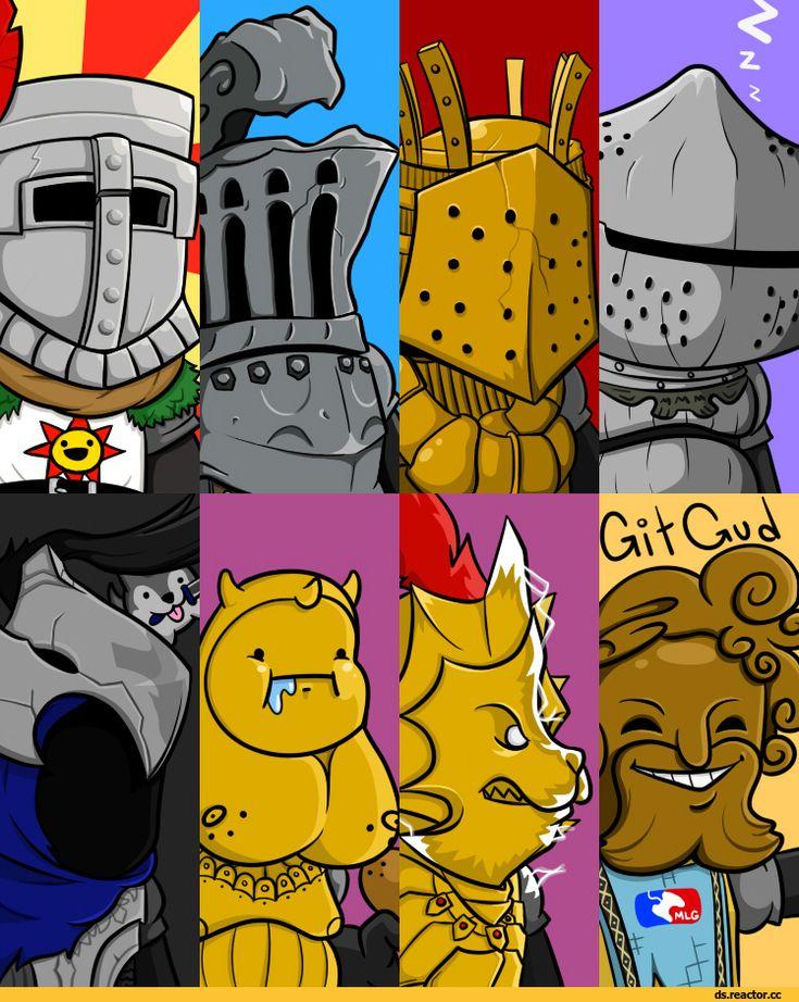 Dark Souls,фэндомы,ornstein,Smough,Lautrec of Carim,Knight Lautrec of Carim,DS персонажи,Siegmeyer of Catarina,Artorias The Abysswalker,Havel the Rock,Solaire of Astora,Giant Dad,Chosen Undead