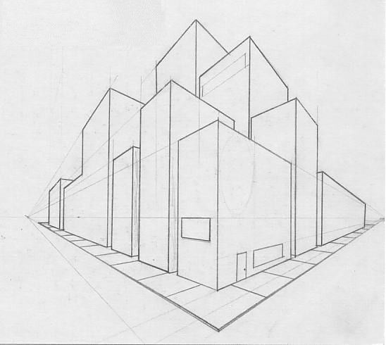 12 Best 2 Point Perspective Drawing Images On Pinterest