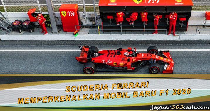 Scuderia Ferrari Memperkenalkan Mobil Baru F1 2020 Mobil Baru Ayam