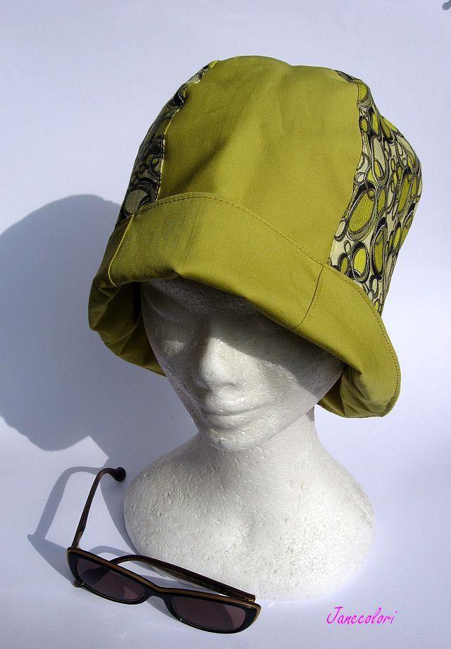 Cappello donna stile cloche anni 20,hat cloche,chapeau clochè, senape, design rètro : Cappelli, berretti di janecolori