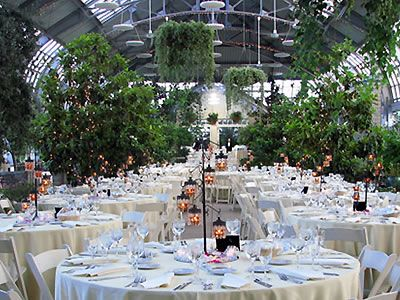 Ambiance And Centerpieces Garfield Park Conservatory Chicago Wedding Venues Garden Weddings Ceremony 60624 Pinterest