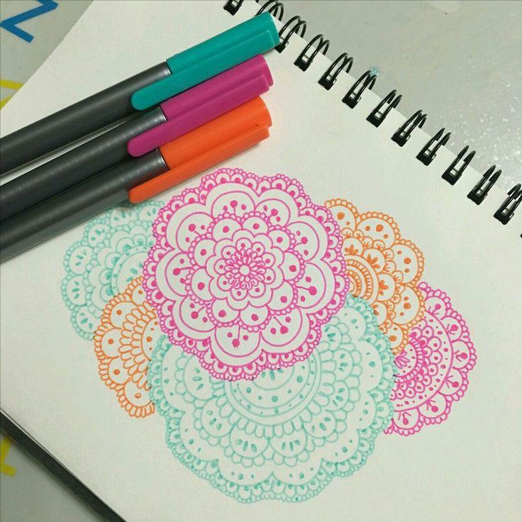 Diseños en los petalos