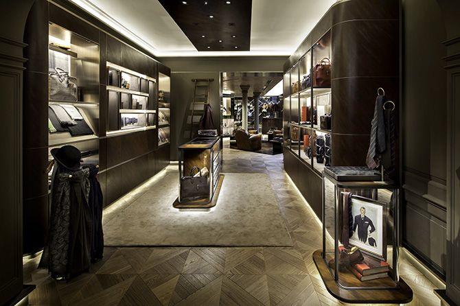 Berluti maison london by curiosity retail design for Retail interior designers in london