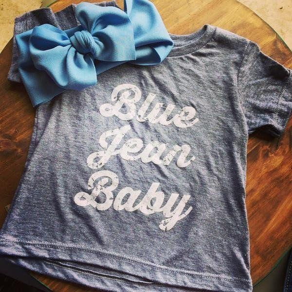 Blue Jean Baby Tee