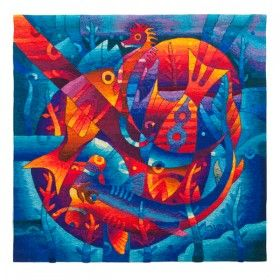 Peruvian Contemporary Tapestries by Maximo Laura