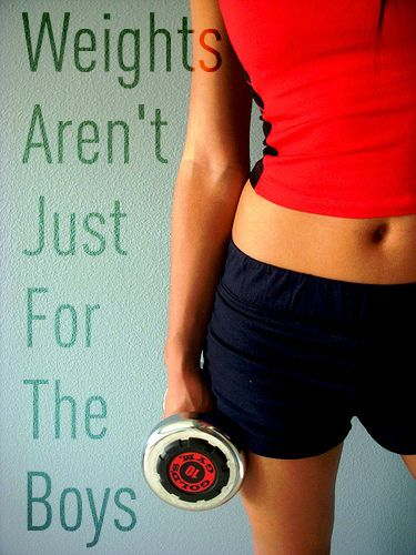 lift weights, don't just use the treadmill