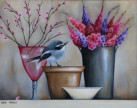 """Peace Blooms"" Oils - Painted by Xan  Virgili. Original Sold. Orders and enquiries at xanvirgili88@gmail.com"