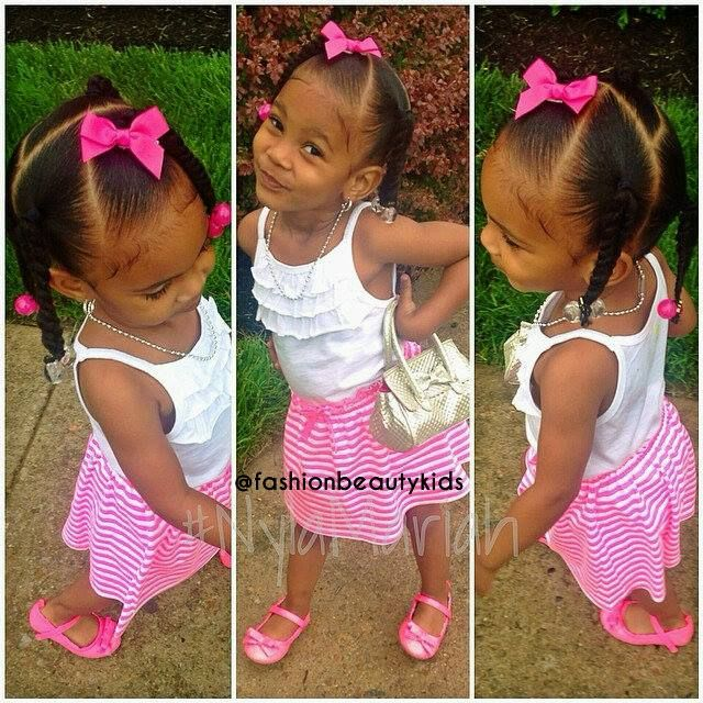 Kiddie protective styling   www.talktresses.com