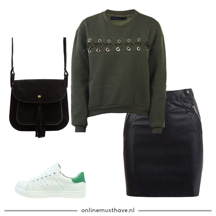 Dit weer vraagt om een warme outfit. Met dit outfitje blijf je warm en fashionable! Shop the look! ✨