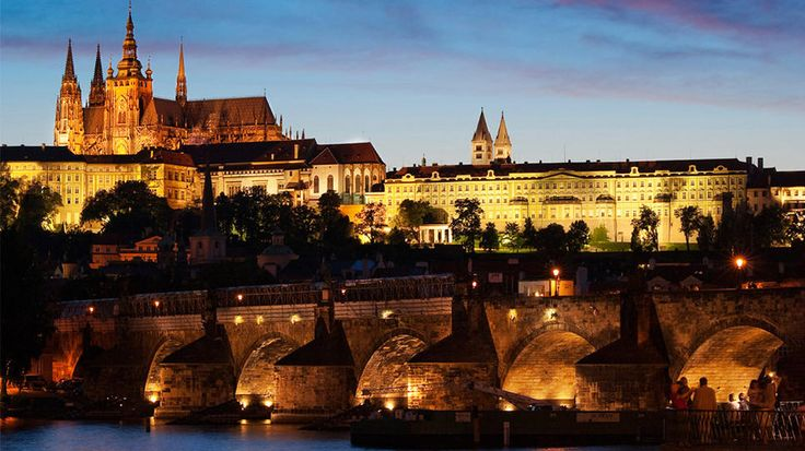 Prague, Czech Republic: Dinners Crui, Buckets Lists, Charles Bridges, Palaces, Castles In Europe, Night Crui, Prague Czech Republic, Travel, Prague Castles
