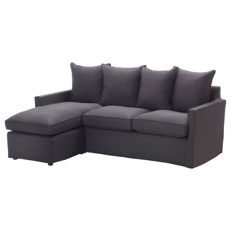 Sofa Pillows H RN SAND Loveseat and chaise lounge Olstorp dark gray IKEA