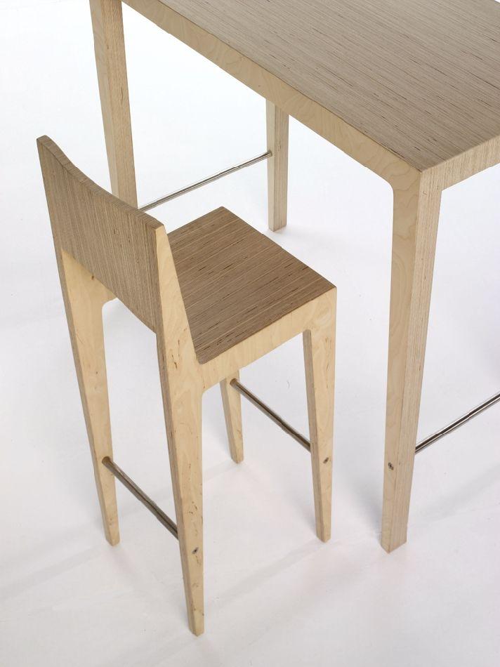 Spectrum Design #fauteuil #rietveld #spectrumdesign #tertiaire #espacepublic #tabouret #table #bar #haut #restaurant #cafetaria #ecole #bureaux