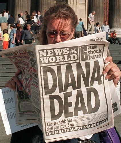 princess+diana+death+photos | Princess Diana's death makes headlines: News of the World - Princess ...
