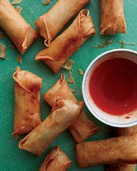 Spring Rolls with Pork and Glass Noodles Recipe on Food & Wine