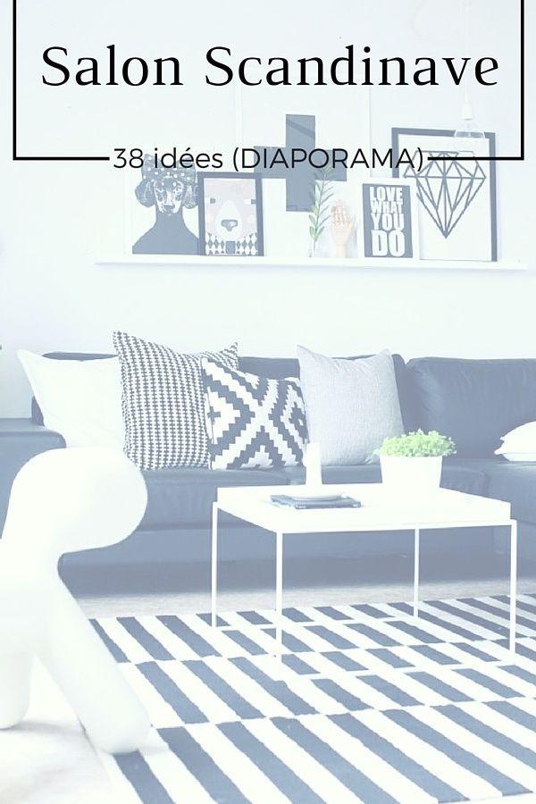 Salon Scandinave : 38 Idées & Inspirations (DIAPORAMA)  http://www.homelisty.com/salon-scandinave/