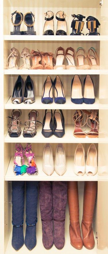 take a peek inside Rosie Huntington Whiteley's closet via The Coveteur