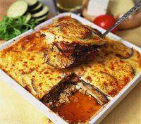 #Receta saludable Moussaka Vegetariana