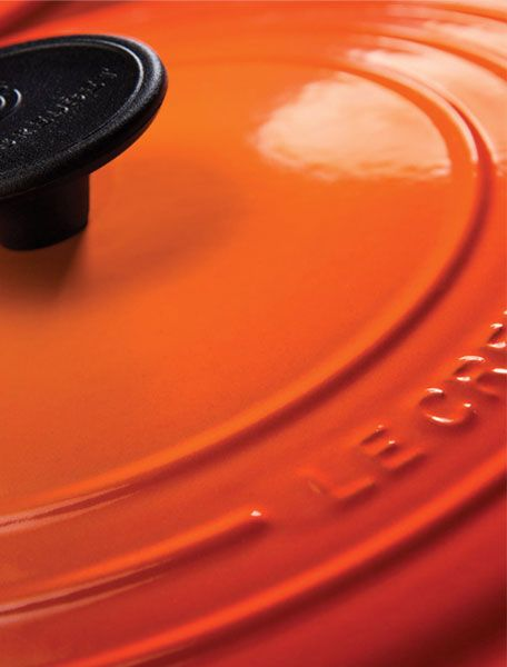 I'd love a Le Creuset (in orange). They've got an outlet at The Citadel